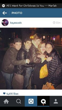 I wish I was Thomas Sangster girlfriend 1st... I'd be his girlfriend... 2nd... I'd be with the cast and Thomas Sangster all the time!! :)