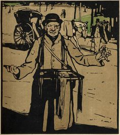 William Nicholson - London Types 5