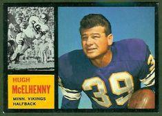 football cards      mcelhenny | Hugh McElhenny - 1962 Topps #92 - Vintage Football Card Gallery