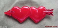 Carved from Vintage Red Bakelite