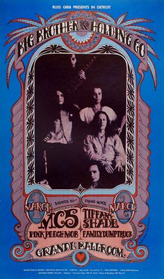 Concert in Detroit (Big Brother and The Holding Company)