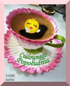 Good Morning Funny, Tea Cups, Pudding, Tableware, Desserts, Food, Night, Pictures, Bonito