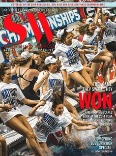 SW May 2014  Pictured: 2014 Women's NCAA Division I Swimming and Diving Champions, Georgia Bulldogs