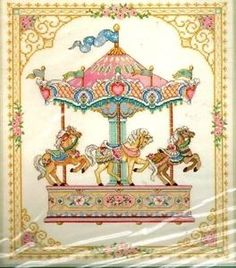 Dimensions Gold Her Majesty's Carousel Counted Cross Stitch Kit ...