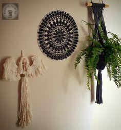 Czarna serweta Dream Catcher, Home Decor, Dreamcatchers, Decoration Home, Room Decor, Dream Catchers, Interior Design, Home Interiors, Interior Decorating