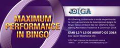 Ortiz Gaming prepara para el Oklahoma Indian Gaming Association Conference and Tradeshow