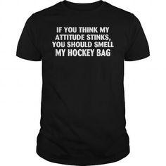 You should Smell My Hockey Bag #Hockey