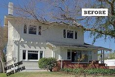 Giving an Old Craftsman House in Pasadena Curb Appeal: BEFORE | hookedonhouses.net