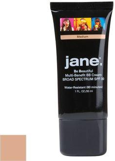 Jane cosmetics be beautiful multi-benefit bb cream with spf 30 on shopstyle.com