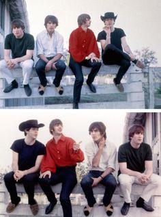 John, Paul, George, and Ringo