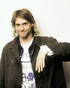 Kurt Cobain in Munich, DE. November 13th, 1991. Photograph by Tibor Bozi