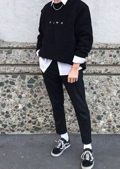 Stylish Mens Outfits, Edgy Outfits, Korean Outfits, Mode Outfits, Fashion Outfits, Men's Fashion, Latex Fashion, Fashion Vintage, Grunge Outfits