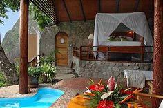Ladera Resort Hotel - Soufriere - Saint Lucia