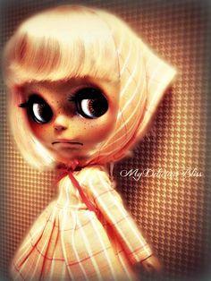 Georgia  OOAK Ethnic Custom Blythe Art Doll by MyDeliciousBliss for adoption on Etsy