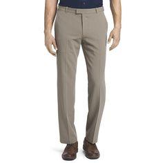 Men's Van Heusen Flex Straight-Fit No-Iron Dress Pants, Size: 46X29, Beig/Green (Beig/Khaki)
