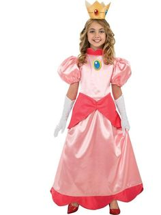 Princess Peach Costume for Girls