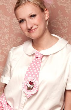 ~♥~ Cupcake Princess Krawatte ~♥~