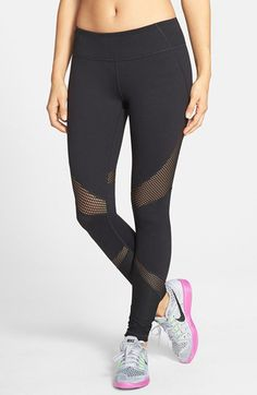 Zella 'Live In - Out of Bounds' Slim Fit Leggings available at #Nordstrom
