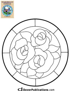 ★ Stained Glass Patterns for FREE ★ glass pattern 290 ★