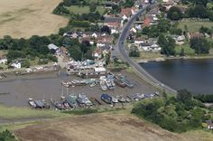 St Osyth Creek in St Osyth essex Aerial Images, Planet Earth, Fields, Planets, Saints, River, Day, Outdoor, Outdoors