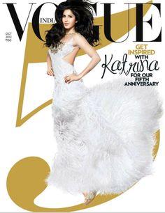 Priyanka Chopra, Anushka Sharma, Deepika Padukone, Katrina Kaif & Sonam Kapoor for Vogue India, October 2012. By Suresh Natarajan