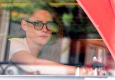 Kristen Stewart out in Paris - July 4, 2013 at restaurant