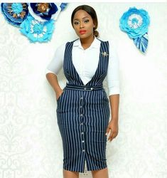 Corporate attire for Women African Print Dresses, African Print Fashion, African Fashion Dresses, African Dress, Fashion Outfits, Classy Work Outfits, Office Outfits, Classy Dress, Corporate Attire Women