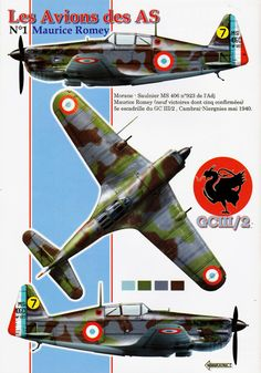 Avions N° 120 - MS 406 - Maurice Romey http://maquettes-avions.hautetfort.com/archive/2011/06/06/magazines-avions.html