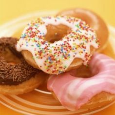 Experiment with the topping flavors of the homemade donuts.