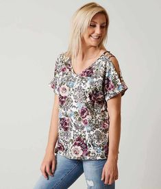 c4f04f454ae0ce Daytrip Plaid Henley Top - Women's Shirts/Blouses in Pink Blue Cream |  Buckle | Threads in 2018 | Pinterest | Henley top, Plaid and Shirt blouses