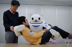 Japón reemplazará a los cuidadores de ancianos por Robots @alvarodabril