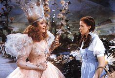 The Wizard of Oz (1939) - Billie Burke and Judy Garland