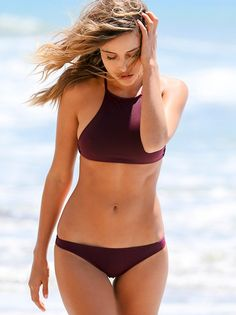 Basic Bottoms | Basic low-rise bikini bottom. Stretch fabric, fully lined. American made. *By Made by Dawn