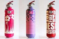 modern home decore fire extinguisher Brand Packaging, Packaging Design, Home Crafts, Diy Crafts, Home Goods Decor, Home Decor, Fire Extinguisher, Design Projects, Firefighter