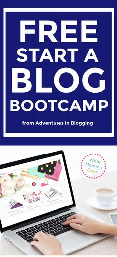 If you're thinking about starting a blog, here's a free self-paced course that will teach you step-by-step how to make a WordPress website! On your new blog, you can start making extra money writing about your passions...food, crafts, DIY projects, lifestyle, parenting, travel & more! If you're in a hurry, sign up now and come back over the weekend to walk through the course. | free blogging tutorials, start a blog in a weekend, make extra money, quickly learn about blogging