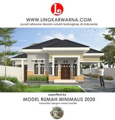 200 Best Rumah Minimalis Modern Terbaru Images In 2020 House Styles House Design House