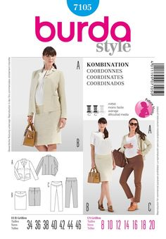 Look no further for your womens separates Burda sewing pattern size Available to buy on-line from Sew Essential. Maternity Patterns, Burda Sewing Patterns, Fashion Mode, Baby Time, Couture, Maternity Wear, Pattern Fashion, Etsy, Coat