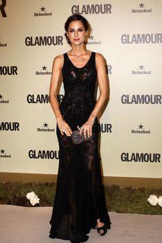 Ariadne Artiles de Roberto Cavalli en el 10º aniversario de Glamour.