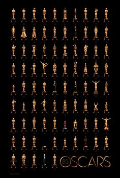 Official Oscars Poster 2013
