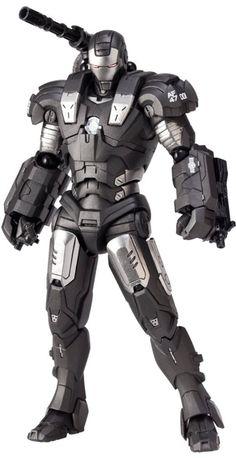 Amazon.com: Iron Man Revoltech SciFi Super Poseable Action Figure #031 War Machine: Toys & Games