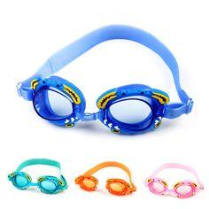 9f8f860cfb7 Find More Swimming Eyewear Information about Cute Cartoon Crab Kids Anti  fog Waterproof UV Protection Swimming