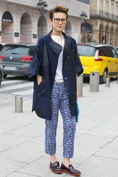 Haute pajama in head-to-toe Chisato