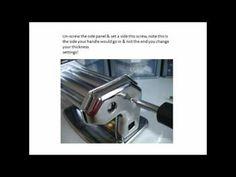 How to clean Pasta Machine