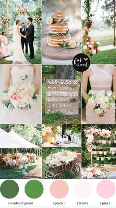 Today post is special garden wedding palette-blush pink garden wedding,garden wedding ideas,outdoor wedding ceremony,outdoor wedding ideas,blush pink green #WeddingIdeasGreen
