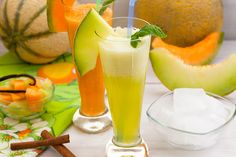 Smoothie Recipes For Kids - Honeydew Melon Cucumber Smoothie
