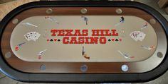 10 Player Poker Table Plus Other Styles, Shapes & Sizes Custom Tables, Poker Table, Shapes, Blue Prints