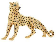 Cartier Panther Brooch in 18K