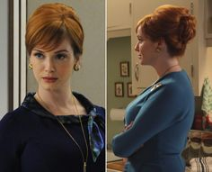 Joan Harris Mad men hair