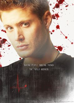 Supernatural poster gif - Dean