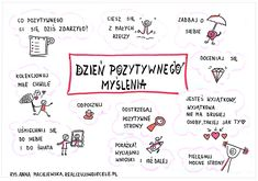 Myślenie wizualne, kurs online, e-book, sketchnoting Happiness Challenge, School Notes, Study Motivation, Peace Of Mind, Self Development, Self Improvement, Happy Life, Fun Facts, Activities For Kids